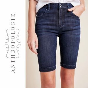 Anthropologie Pilcro Straight Denim Capris size 29